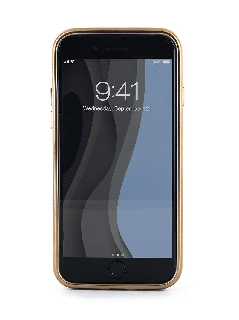 Front image of the Ted Baker Apple iPhone 8 / 7 / 6S phone case in Houdini Navy