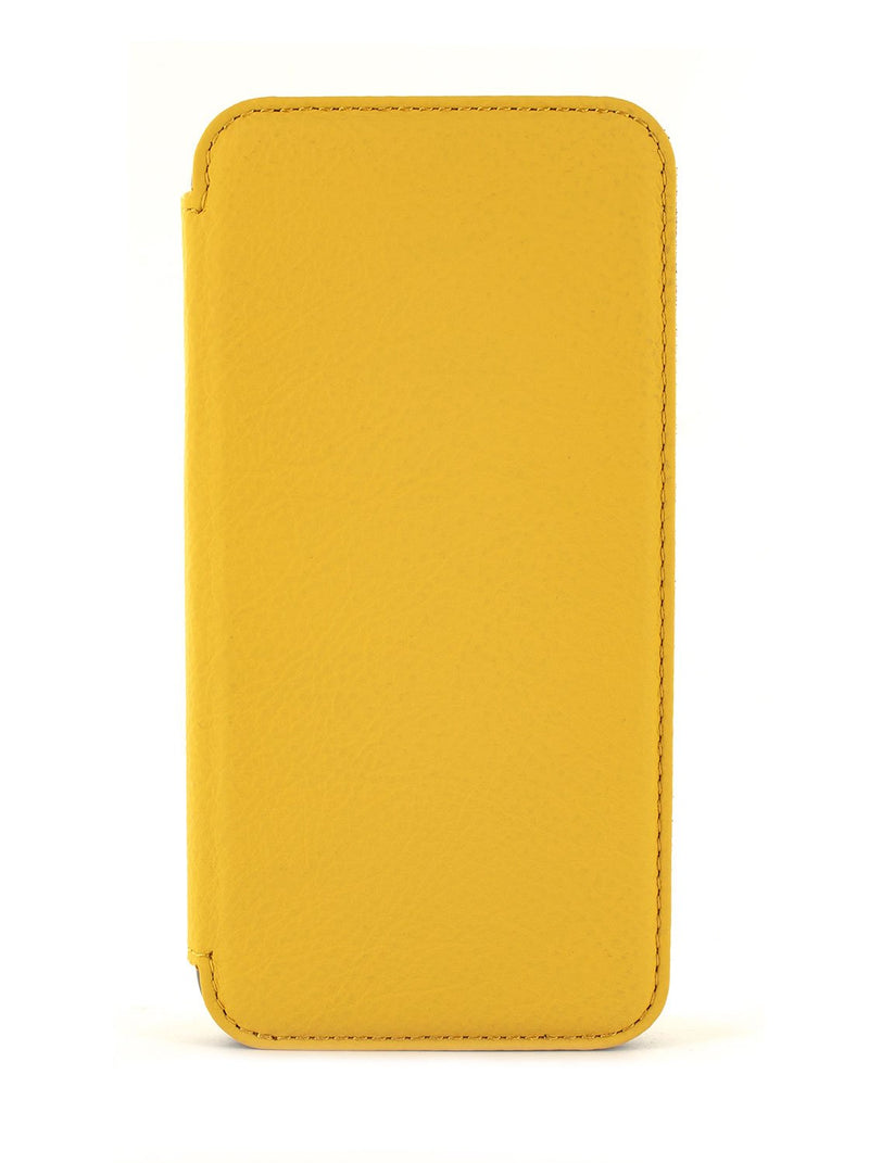 Hero image of the Greenwich Apple iPhone XR phone case in Canary Yellow