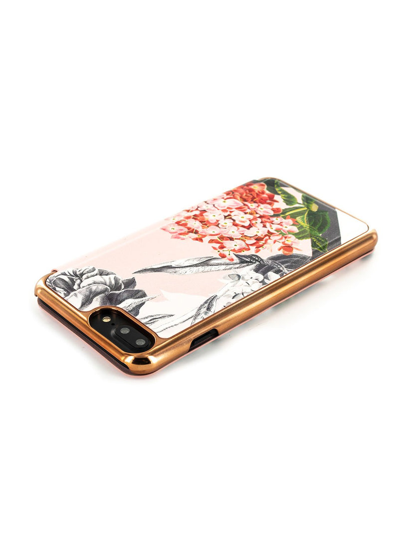 Face down image of the Ted Baker Apple iPhone 8 Plus / 7 Plus phone case in Nude