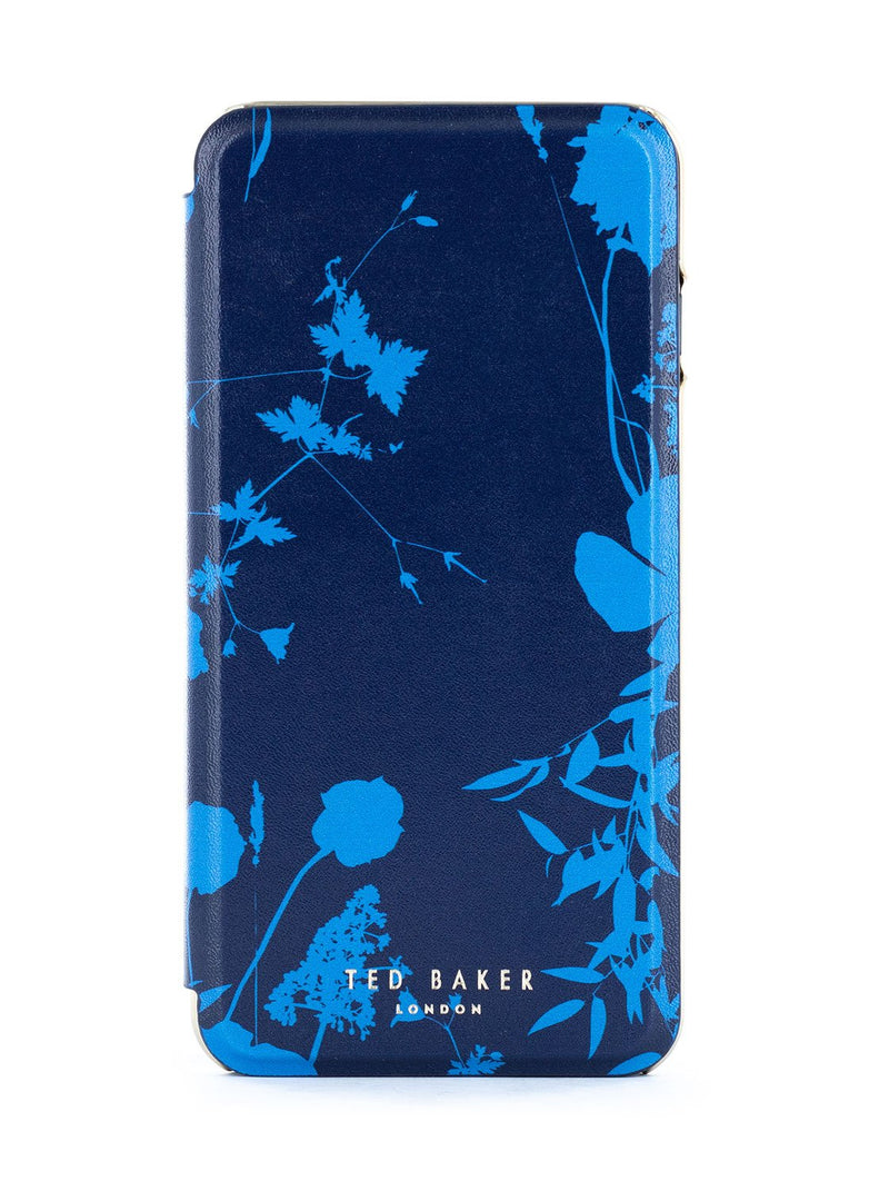 Hero image of the Ted Baker Apple iPhone 8 Plus / 7 Plus phone case in Blue
