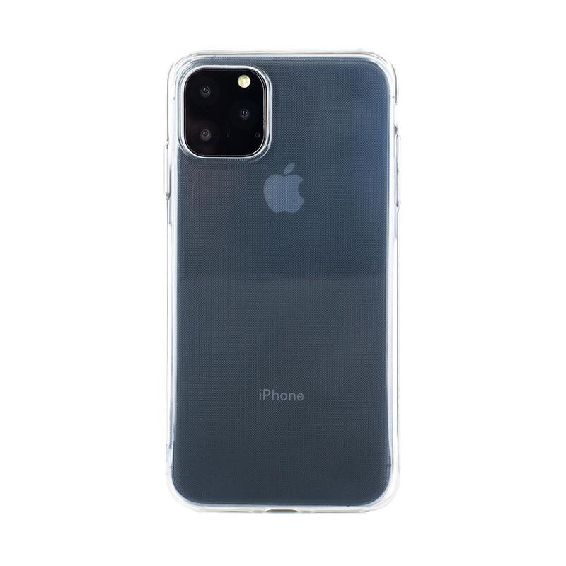 Back with device shot of the Proporta Apple iPhone 11 Pro Max back shell in Clear