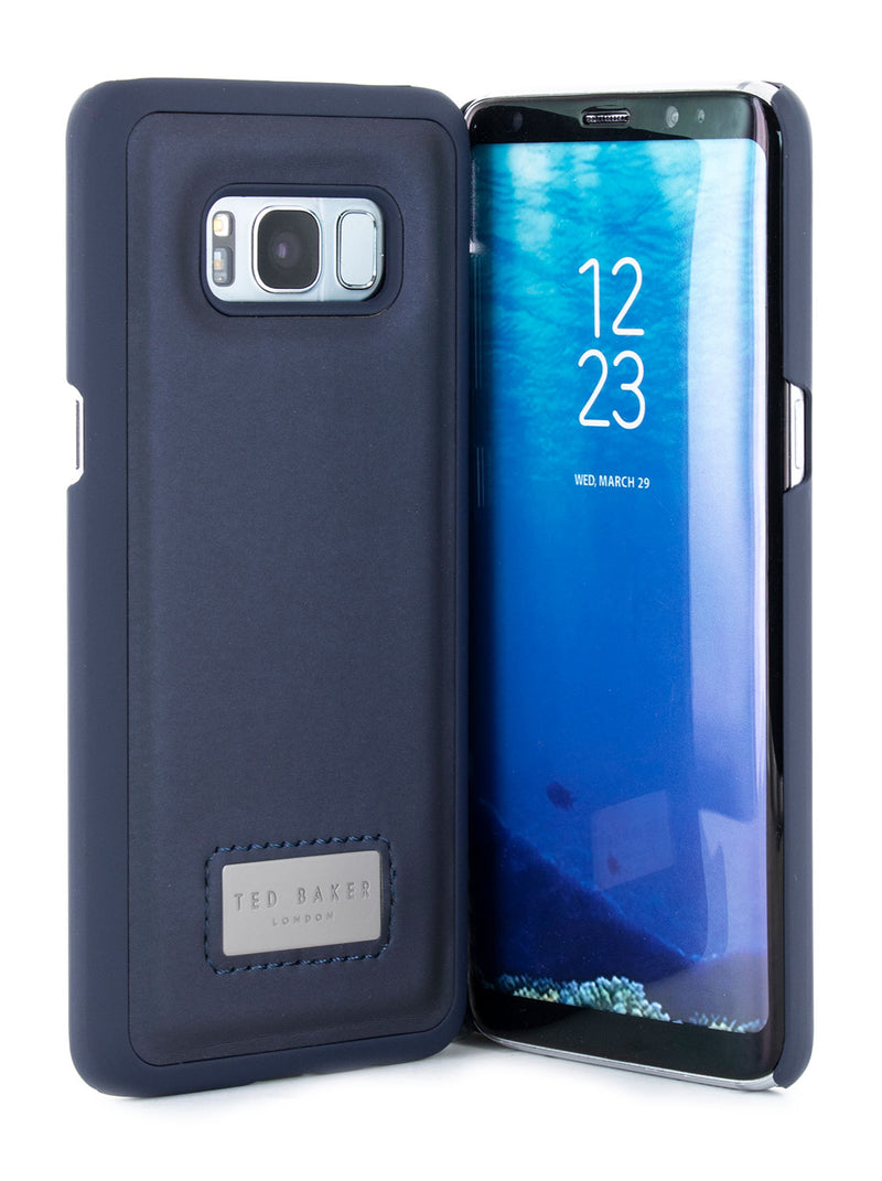 Ted Baker GOGO Inlay Hard Shell for Galaxy S8 – Navy