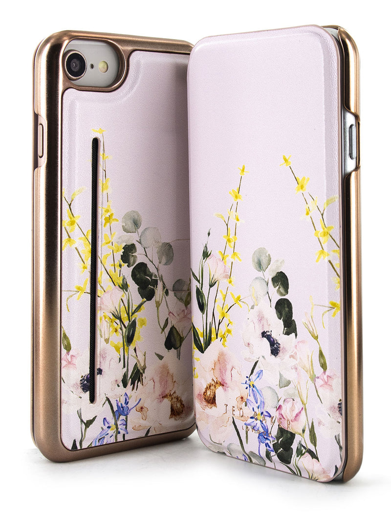Ted Baker CABE Mirror Folio Case for iPhone SE (2020) / 8 / 7 / 6 - ELEGANT
