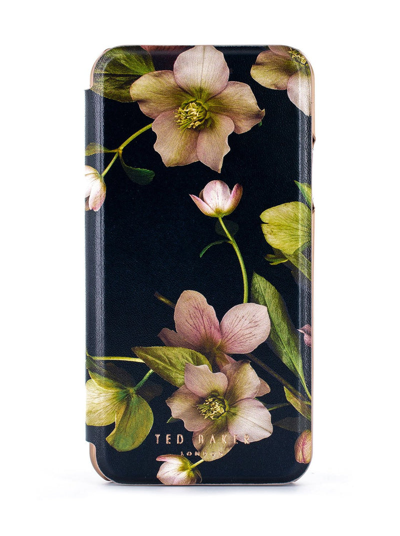 Hero image of the Ted Baker Apple iPhone XR phone case in Black