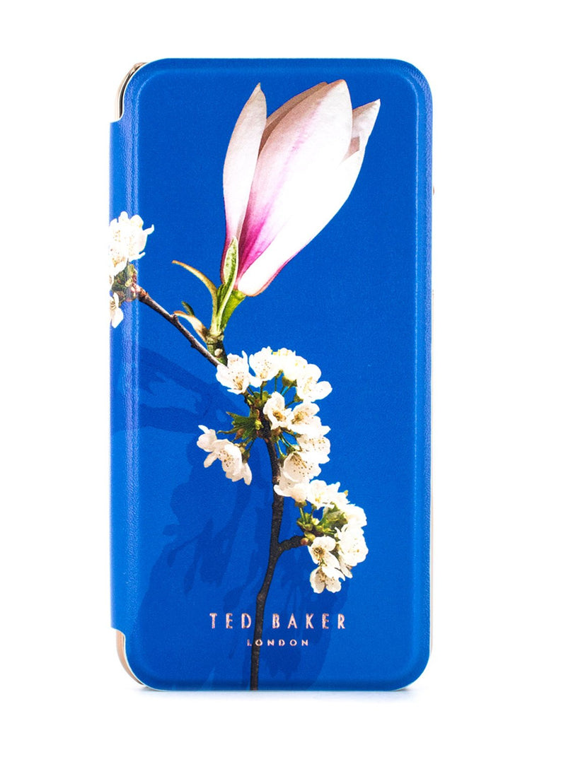 Hero image of the Ted Baker Apple iPhone XS / X phone case in Blue