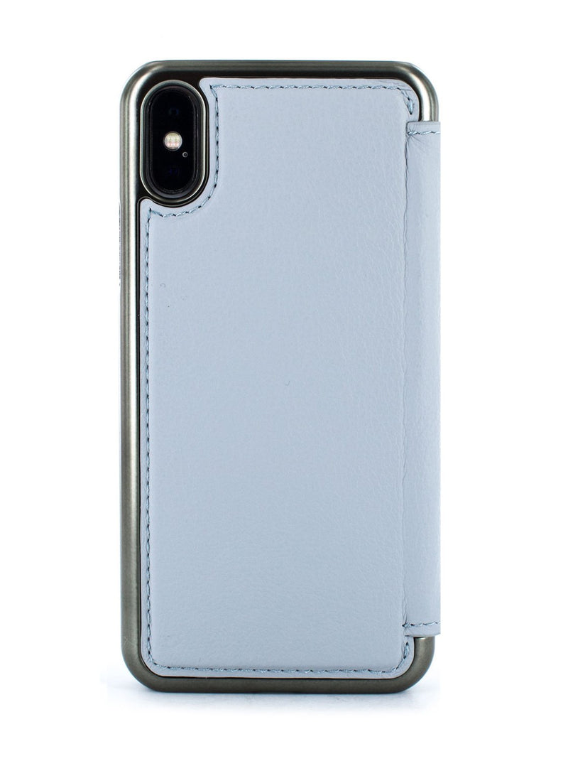 Back image of the Greenwich Apple iPhone XS / X phone case in Pale Gravel