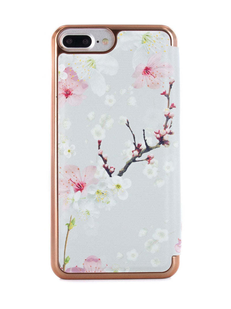 Back image of the Ted Baker Apple iPhone 8 Plus / 7 Plus phone case in White
