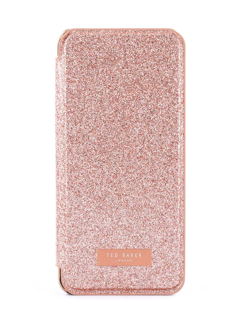 Hero image of the Ted Baker Samsung Galaxy S10 phone case in Rose Gold
