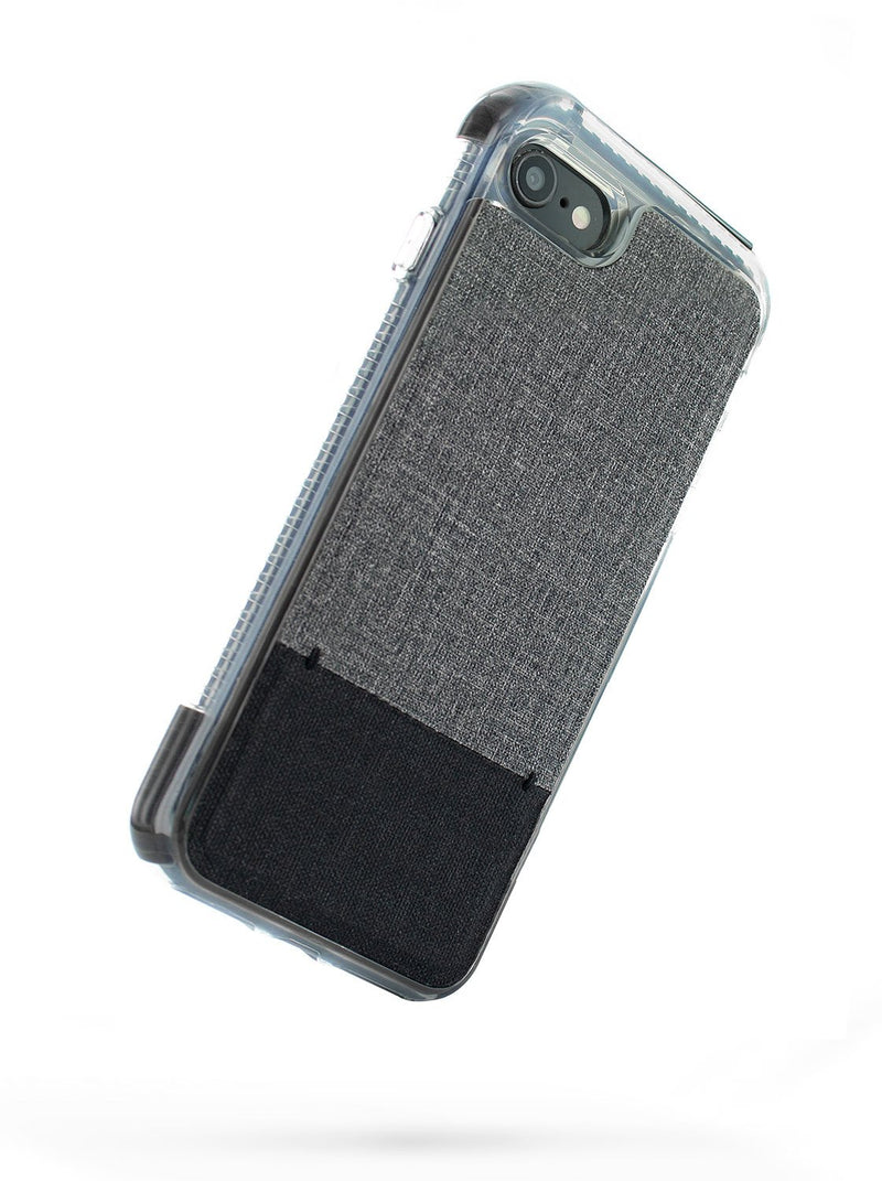 Back image of the Proporta Apple iPhone 8 / 7 / 6S phone case in Grey