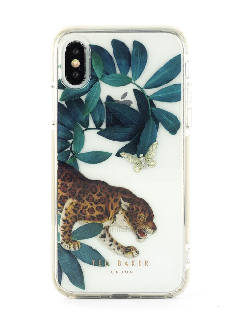 Hero image of the Ted Baker Apple iPhone XS / X phone case in Clear Print