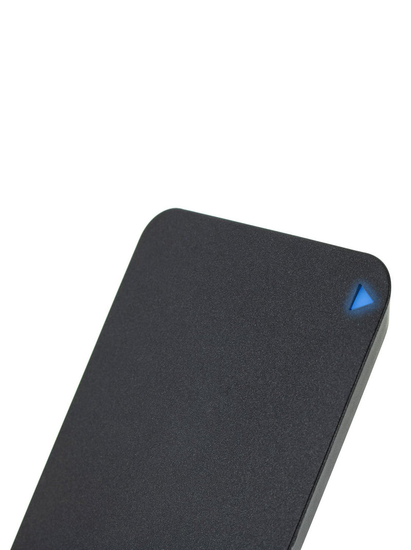 LED light detail image of the Proporta Universal wireless charger in Black