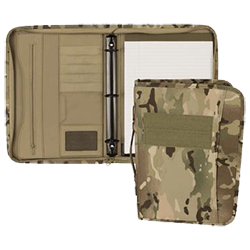 Image of a Mercury Tactical Gear camo binder