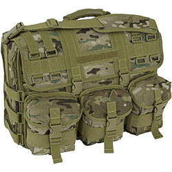 Image of a Mercury Tactical Gear coyote helmet bag