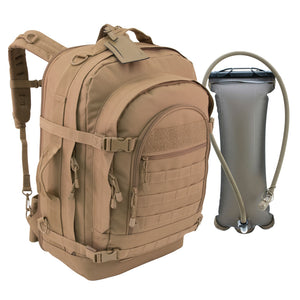 Blaze Bugout Bag with Hydration- Coyote
