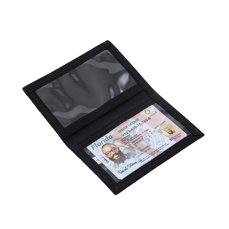 Simple ID Holder - Black