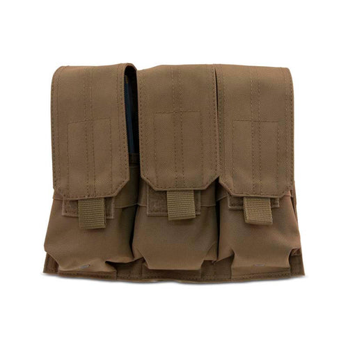 Triple Stacked Mag Pouch - Coyote