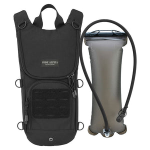Sprinter Hydration Pack Laser Cut MOLLE- Black