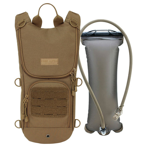 Sprinter Hydration Pack Laser Cut MOLLE- Coyote