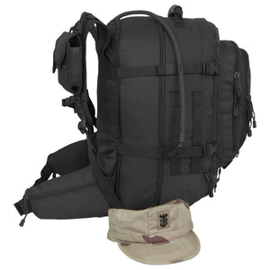 Tac Pac with Hydration- Black