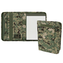 Load image into Gallery viewer, Zippered Padfolio- NWU Type III