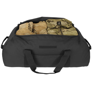 Giant Duffel Backpack- Black