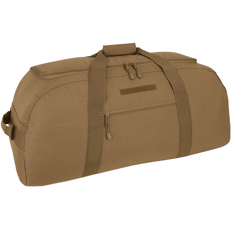 Giant Duffel Backpack- Coyote