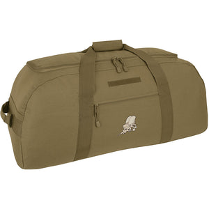 Giant Duffel Backpack- Coyote- Seabee Logo