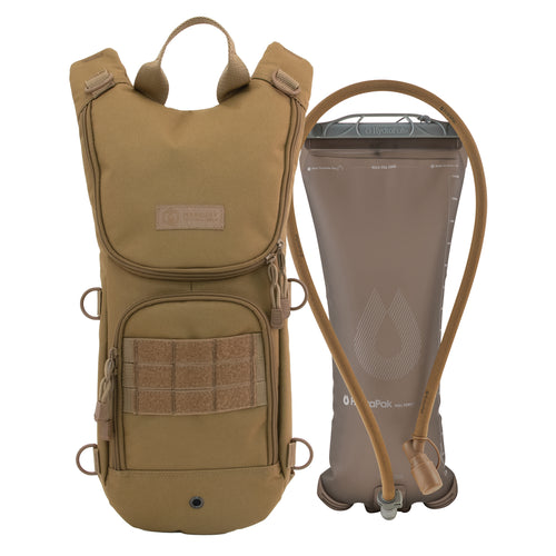 TAA Compliant- Sprinter Hydration Pack Coyote