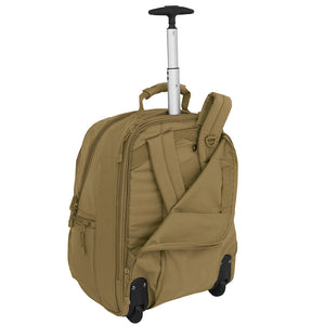 Wheeled Laptop Backpack - Coyote