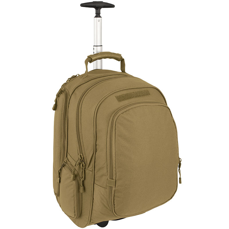 TAA Compliant- Wheeled Laptop Backpack- Coyote