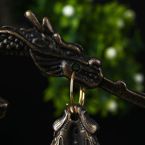 Buddhism Dragon Bell Statue - healing-waves