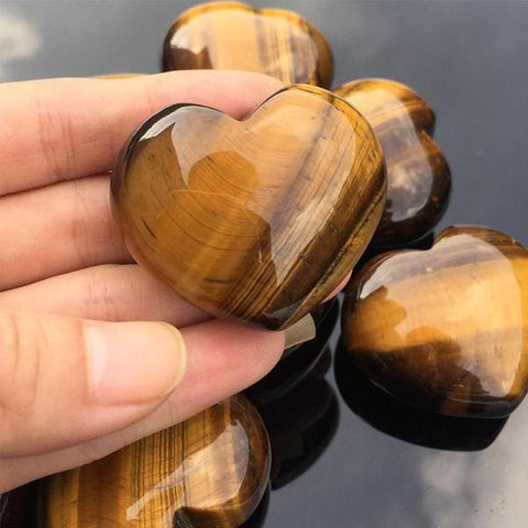 Heart Stone Crystal - healing-waves