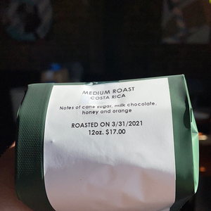 Medium Roast Costa Rica
