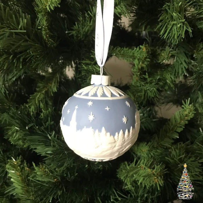 Wedgwood Christmas sky Ball