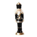 Ekrismis Black nutcracker soldier (17cm)
