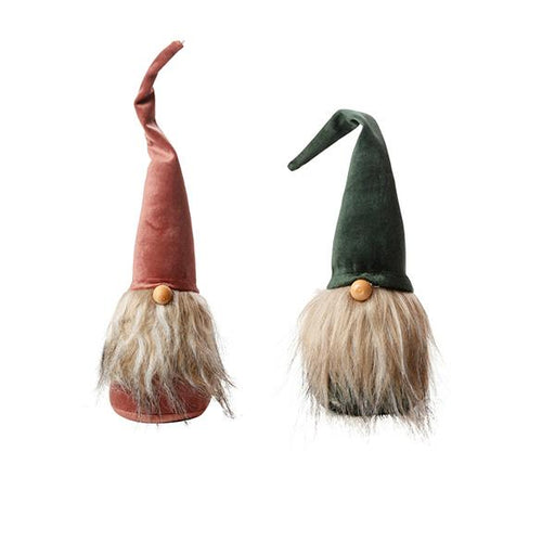 Ekrismis Pink & green gnome - 2 assorted shapes (18cm)