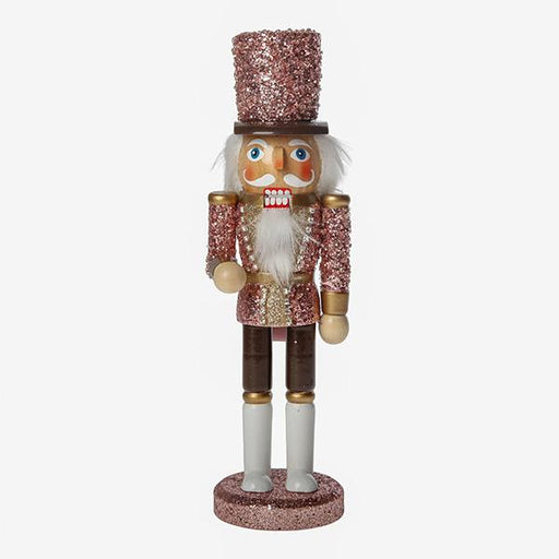 Ekrismis Pink wood nutcracker (25cm)