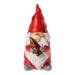 Ekrismis Red petit santa figure with baby (12cm)