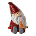 Ekrismis Red petit santa with bird (10cm)