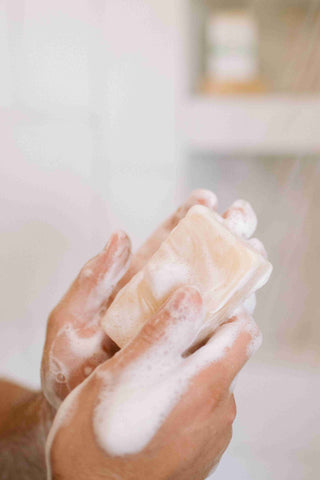 Goat's milk soap for skin health