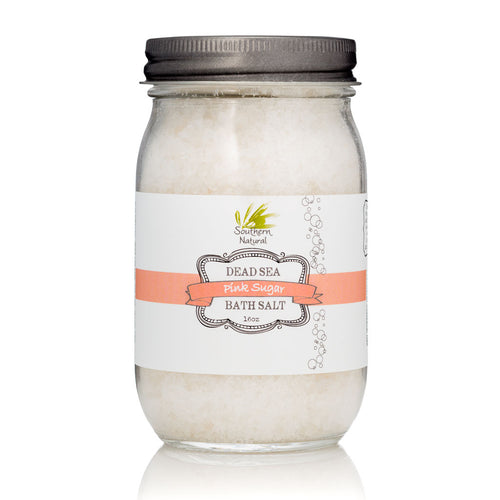 PINK SUGAR - DEAD SEA BATH SALT THERAPY