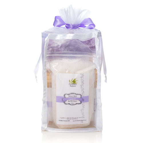 Natural Bath & Body Gift Bag With Sea Salt