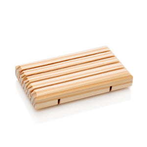 A Wooden Soap Dish from Southern Natural, LLC