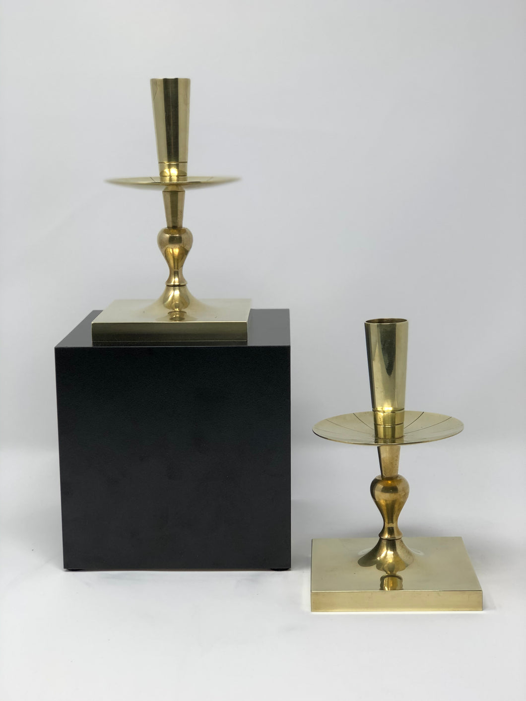 Tommi Parzinger | Brass Candlesticks - Roughan Home