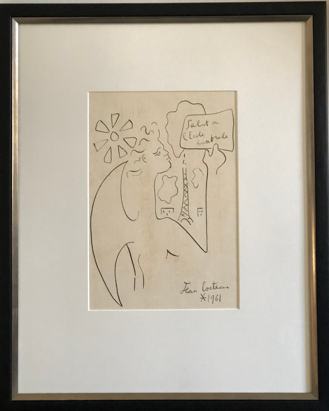 Jean Cocteau | Ink On Paper - Roughan Home