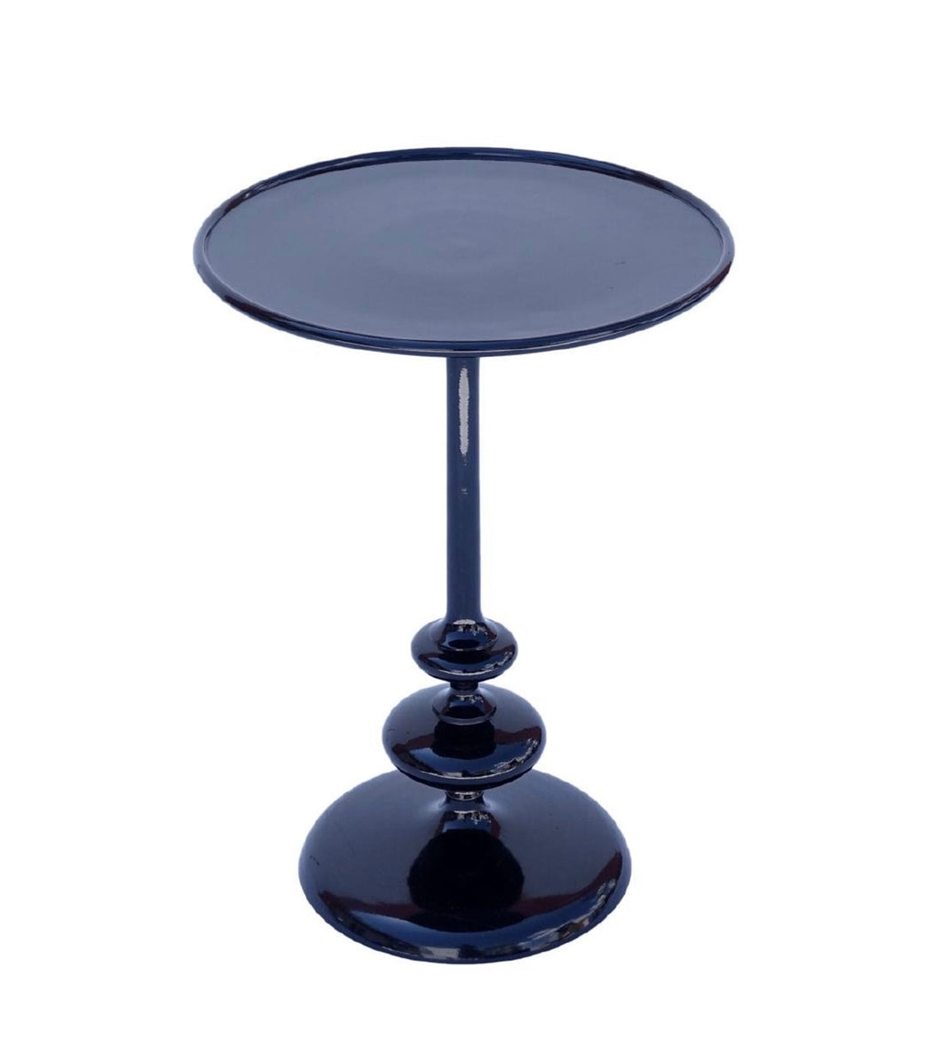 Celine Dion | Black metal side table