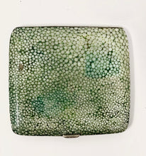 Load image into Gallery viewer, Rare English Shagreen | Antique Green Cigarette Case