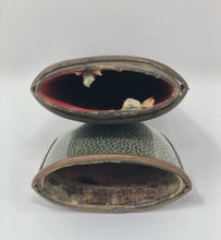 Load image into Gallery viewer, Opera | Shagreen & Copper Glass Case - Roughan Home
