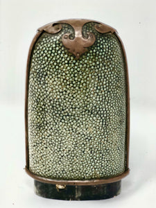 Opera | Shagreen & Copper Glass Case