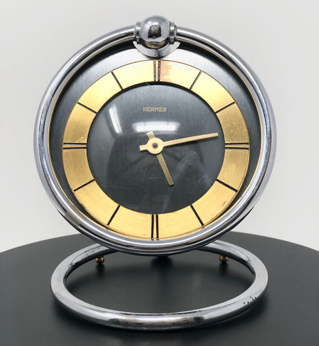 Hermes | Desk Clock 1970's - Roughan Home